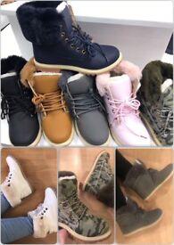 Various women's boots!