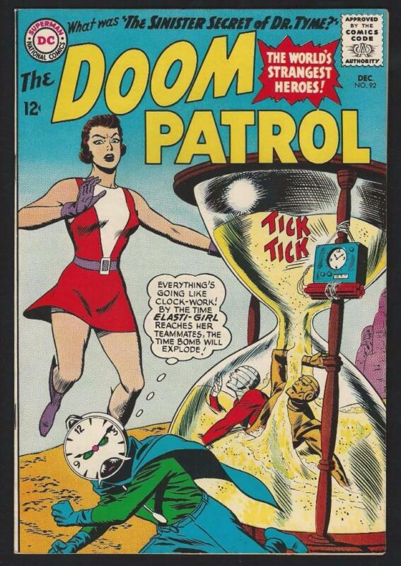 Doom Patrol #92 Art by Bruno Premiani VF 8.0