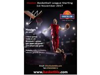 Want to Play in a Basketball League? Join our Hoxton League starting 1st November 2017