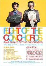 2 Tickets - Flight of the Conchords - 21st June @ 02, London