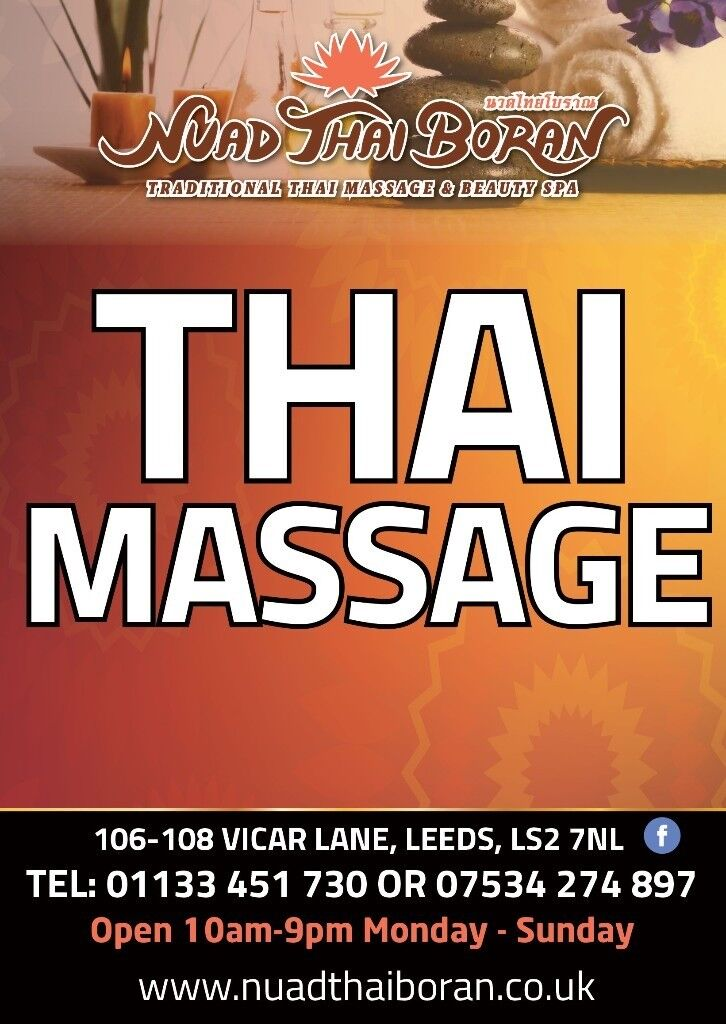 Training Course In Thai Massage And Certificate With Nuad Thai Boran