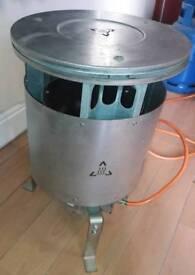 Propane butane gas space heater