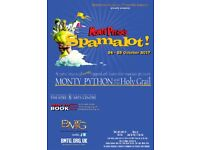Grab your coconuts, Spamalot is here!