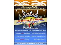 8 Week Beginner's Salsa Dance Course