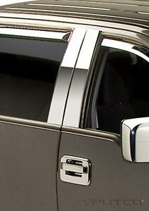 PUTCO - Ens. de pilliers de portes Chrome Ford F150 - 2004-14