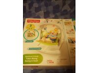 Fisherprice take along baby swing