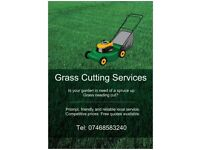 Grasscutting & General Garden Maintenance