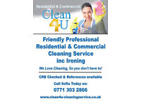 Clean4U Domestic & Commercial Cleaning for Alton & surrounding areas