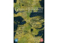 Game of Thrones Series1 - 3 Blu ray boxset