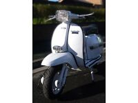 1978 lambretta GP150 restored MOT'd UK reg'd ONLY 11mls since rebuild. NEEDS GEARS SET UP