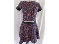 Girls 2pc skirt and top sets new