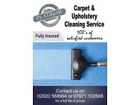 CARPET & UPHOLSTERY CLEANING SERVICE - CARDIFF, VALE OF GLAMORGAN AND NEWPORT