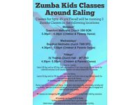 Zumba classes for children & parents
