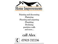 Home Improvement - refurbishment - decorating - flooring - plumbing