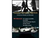 CHEAPEST ON THE MARKET! Luxury Airport Transfers