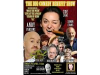 THE BIG COMEDY BENEFIT SHOW