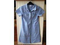 3 Girls Gingham Primary School Dress 8 Years - Great Condition