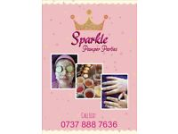 Sparkle Pamper & Spa Parties for girls by Eliz