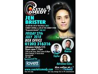 The Coastal Comedy Show with TV Headliner Jen Brister!
