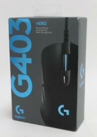 Logitech G403 HERO Wired Gaming Mouse,