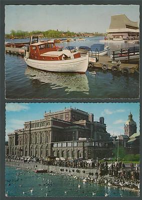 Stockholm Kungl. Operan och jacobs kyrka. Djurgardsidyll  Postcards.   k.22