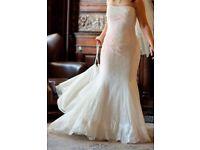 Ronald Joyce Wedding Dress Fit up to size 8