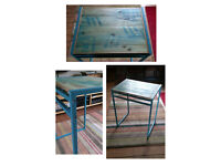 Small desk / side table (free delivery within edinburgh)