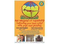 The Garden of Creativity: Cultivating your inner Artist with Yoga and Painting