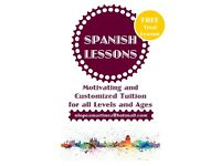 FREE TRIAL ONE TO ONE SPANISH LESSON. City Center & Didsbury