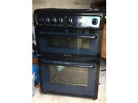 Hotpoint gas cooker. Only used for 12 months