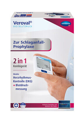 VEROVAL EKG- und Blutdruckmessgerät 1 Stück PZN 12672590