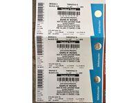 2 Guns N'Roses Tickets Seated 16/06 £105 each
