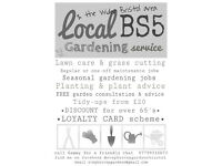 RHS educated gardener available for temporary or permenant jobs - call Sammy for a friendly chat