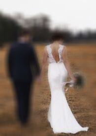 Wedding Dress - Alicia by Elbeth Gillis - Size 8-10