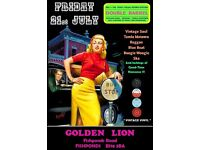 FRIDAY 21st JULY - 60s 70s SOUL / REGGAE / MOTOWN / BLUE BEAT with DOUBLE BARREL – FISHPONDS