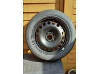 Vauxhall Corsa. Spare Wheel with tyre