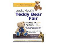 Locks Heath TEDDY BEAR FAIR APRIL 8TH 2017 Hampshire