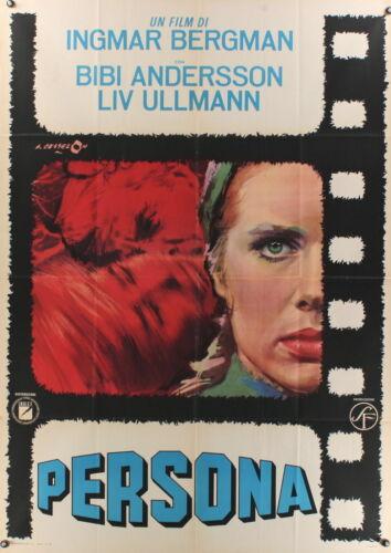 "PERSONA 1966 39""x55"" poster Ingmar Bergman Liv Ullmann"