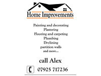Home Improvement - refurbishment - decorating - flooring - plumbing