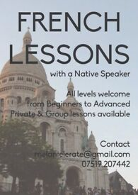 French Lessons, Private, Groups and Skype !