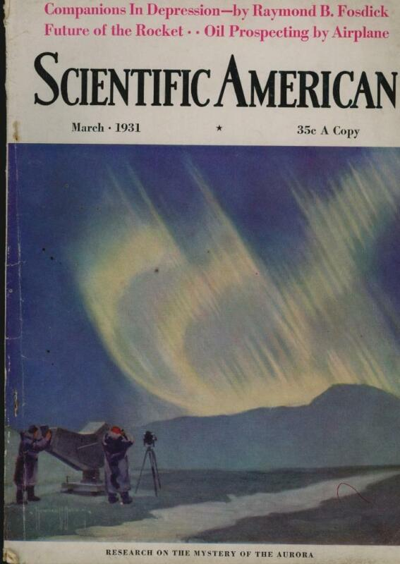 1931 DAVID LASSER, 1st writing on ROCKETRY and SPACEFLIGHT