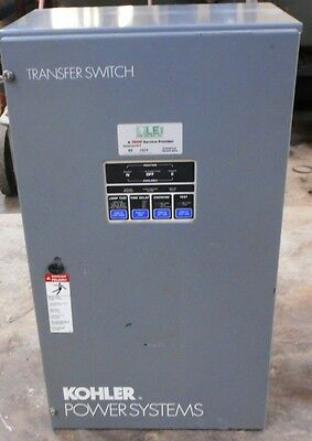 Kohler Automatic Transfer Switch Kct-amta-0104s 104a 480v 3ph 3 Pole