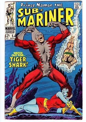 Sub-Mariner #5 1968 1st Appearance of Tiger Shark FN/VF-