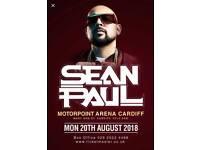 2 x Sean Paul tickets