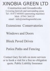 Quality Builders. Extensions Conservatories Block Paved Drives Patios Paths and Fencing