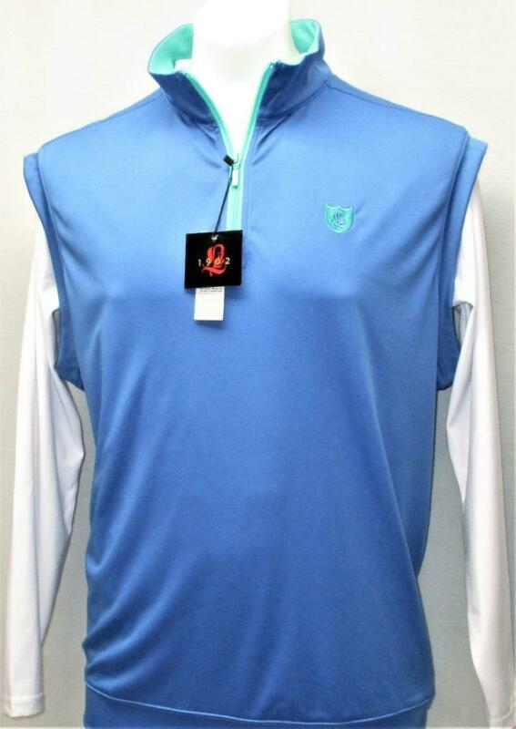New Mens Lambton lightweight sleeveless polyester windvest Large Marine blue
