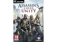 PC Games - Assasin's creed Unity (MORE GAMES AVAILABLE ON THE DESCRIPTION)