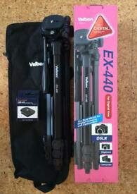 Velbon EX440 tripod with spare camera plate
