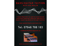 Bass / guitar tuition and guidance. fun, relaxed, simple learning techniques. South Manchester.