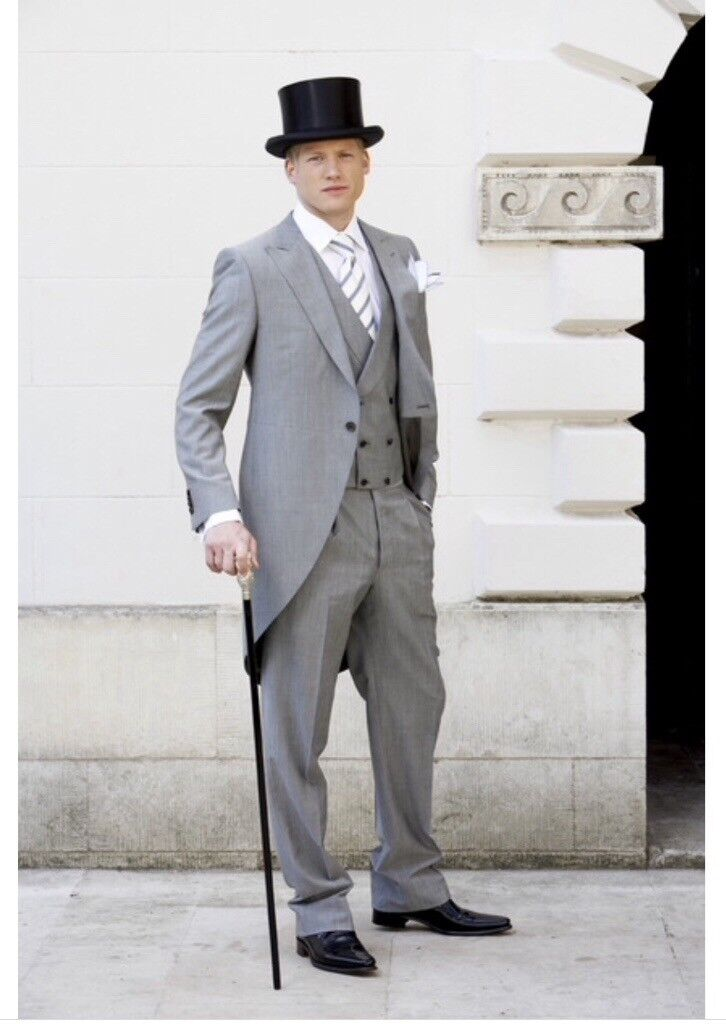 Men\'s morning suits in grey please see ad for more details. See ...